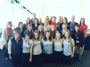 UW-Madison student NAMA members and alumni