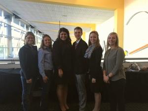 UW-Platteville student NAMA members and alumni